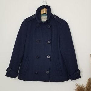 Smart Set | Navy Blue Pea Coat Size Extra Small